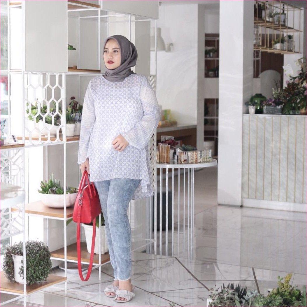 Outfit Baju Remaja Berhijab Ala Selebgram 2018 Kerudung Segi Empat