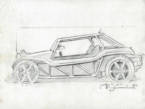 1970 meyers manx buggy sketch | Cars | Pinterest | Manx, Beach buggy ...