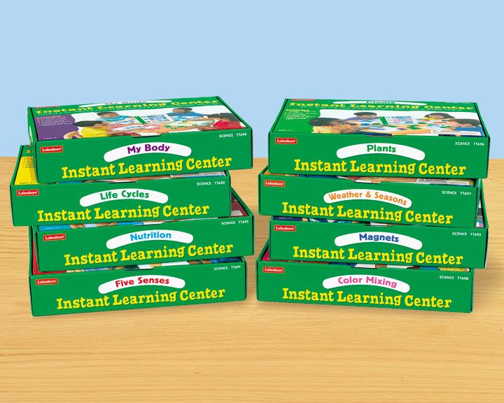 Science Instant Learning Centers - Complete Set  #LakeshoreDreamClassroom