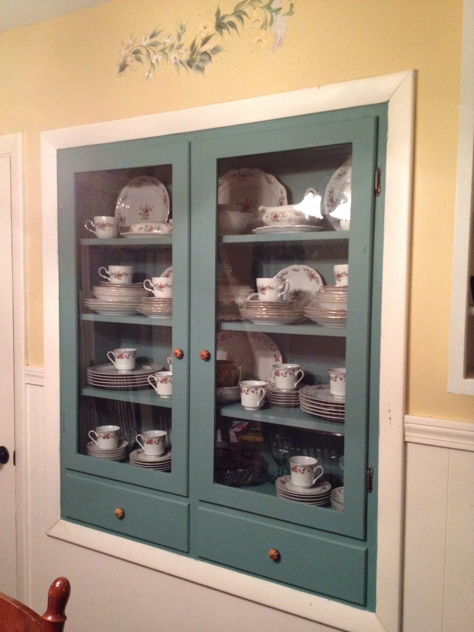 How To Refinish China Cabinet With DIY Chalk Paint