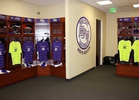 High Point University Panthers Steele Sports Center High Point University Soccer Locker Locker Room