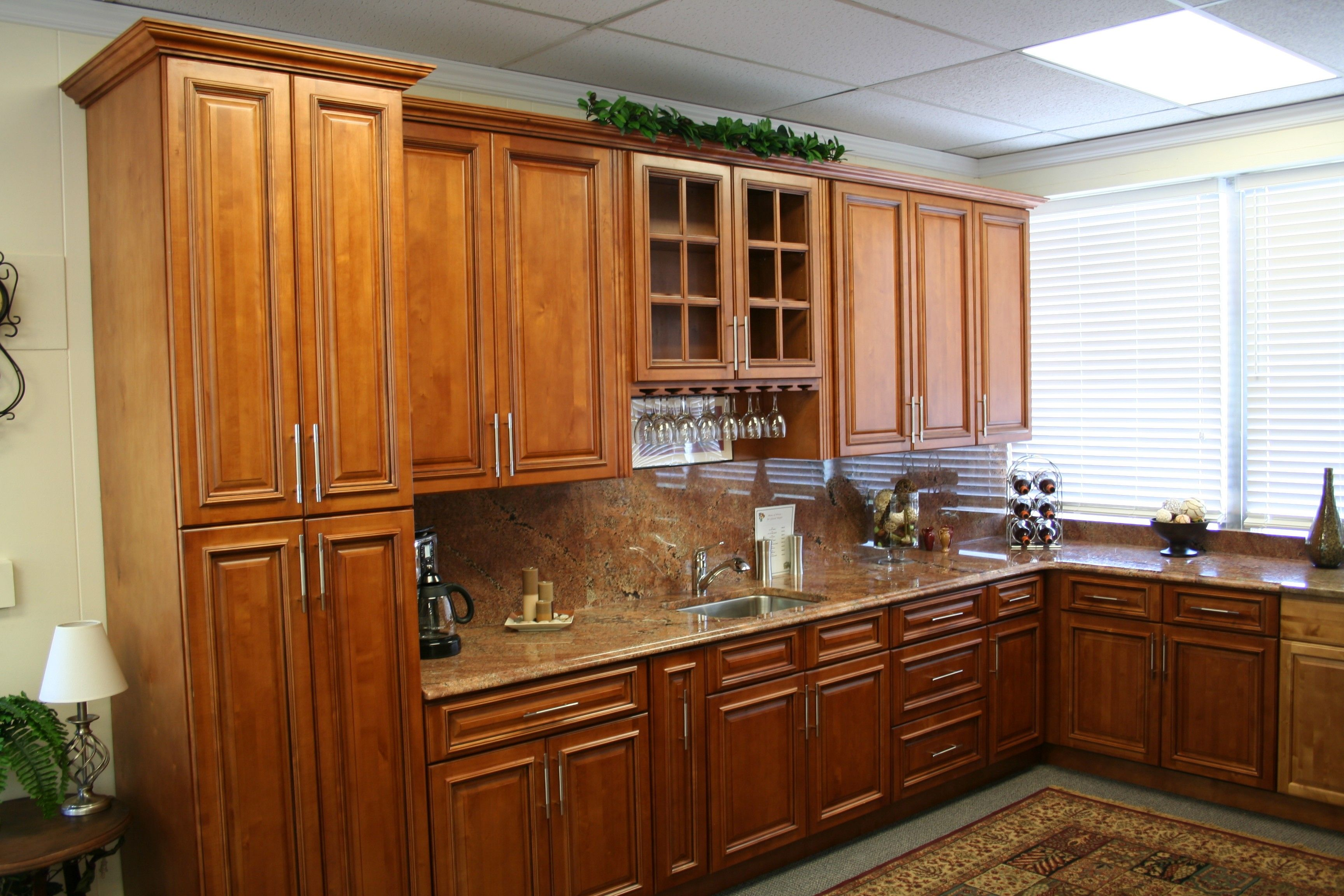Image result for maple cabinets silver appliances | Maple ...