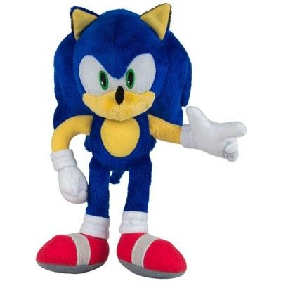 Sonic The Hedgehog Sonic 12 Inch Deluxe Plush In 2020 Sonic Plush Toys Disney Throw Pillows Plush Toy