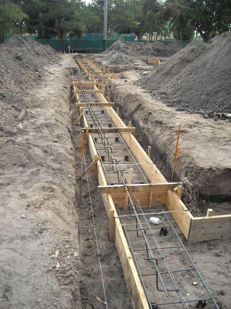 Concrete foundation forms google search garden trellis for Concrete basement forms