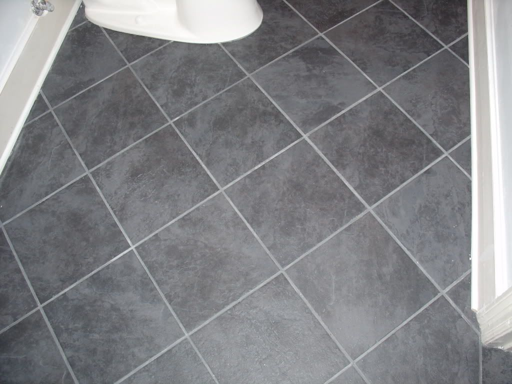 Bathroom Floor To Roof Charcoal Tiles With A Black: Daltile Continental Slate In Asian Black