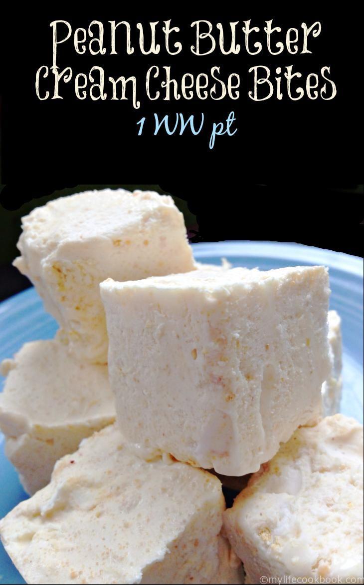 Peanut Butter Cream Cheese Bites 1wwpt Jpg 730 1171 Low Carb Sweets Low Carb Snacks Peanut Butter Recipes