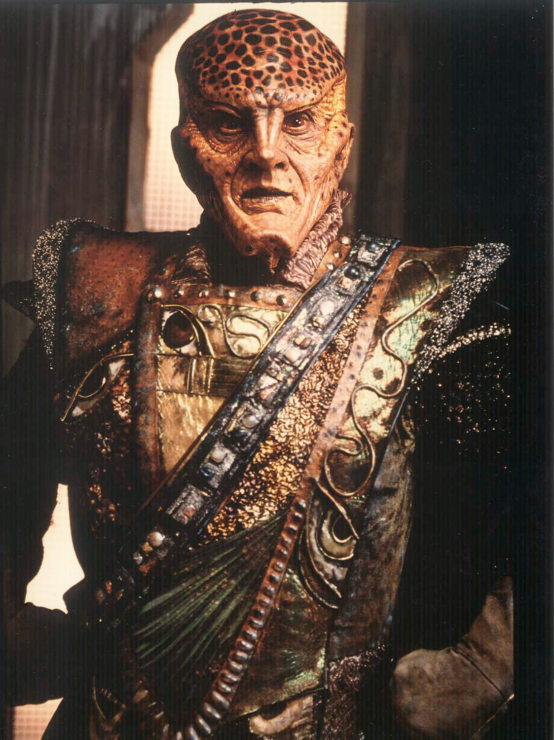G Kar Babylon 5 1994 Actor Andreas Katsulas Makeup Optic Nerve Studios