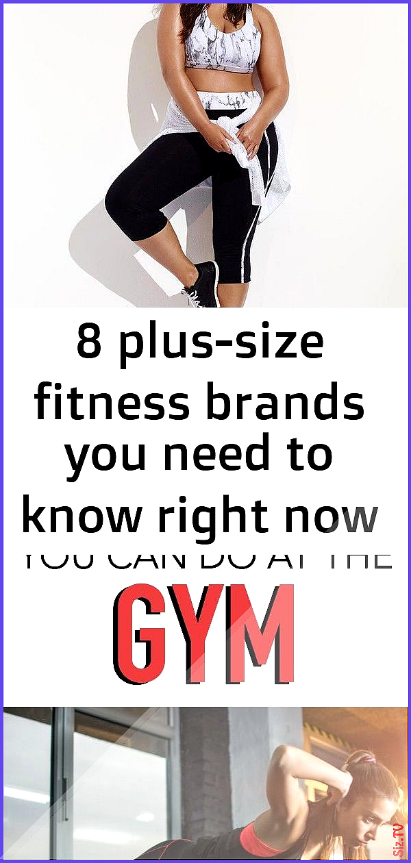 8 plus-size fitness brands you need to know right now 5 8 plus-size fitness brands you need to know...