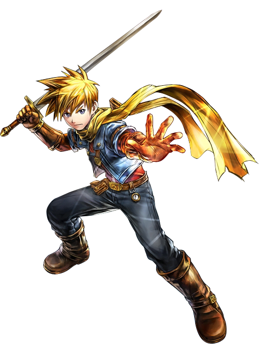 Matthew (Golden Sun) - Newcomer from new series, Golden Sun