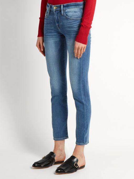 Le Garçon Cadre Denim Jeans Jambe Droite C2kCzgpMvQ