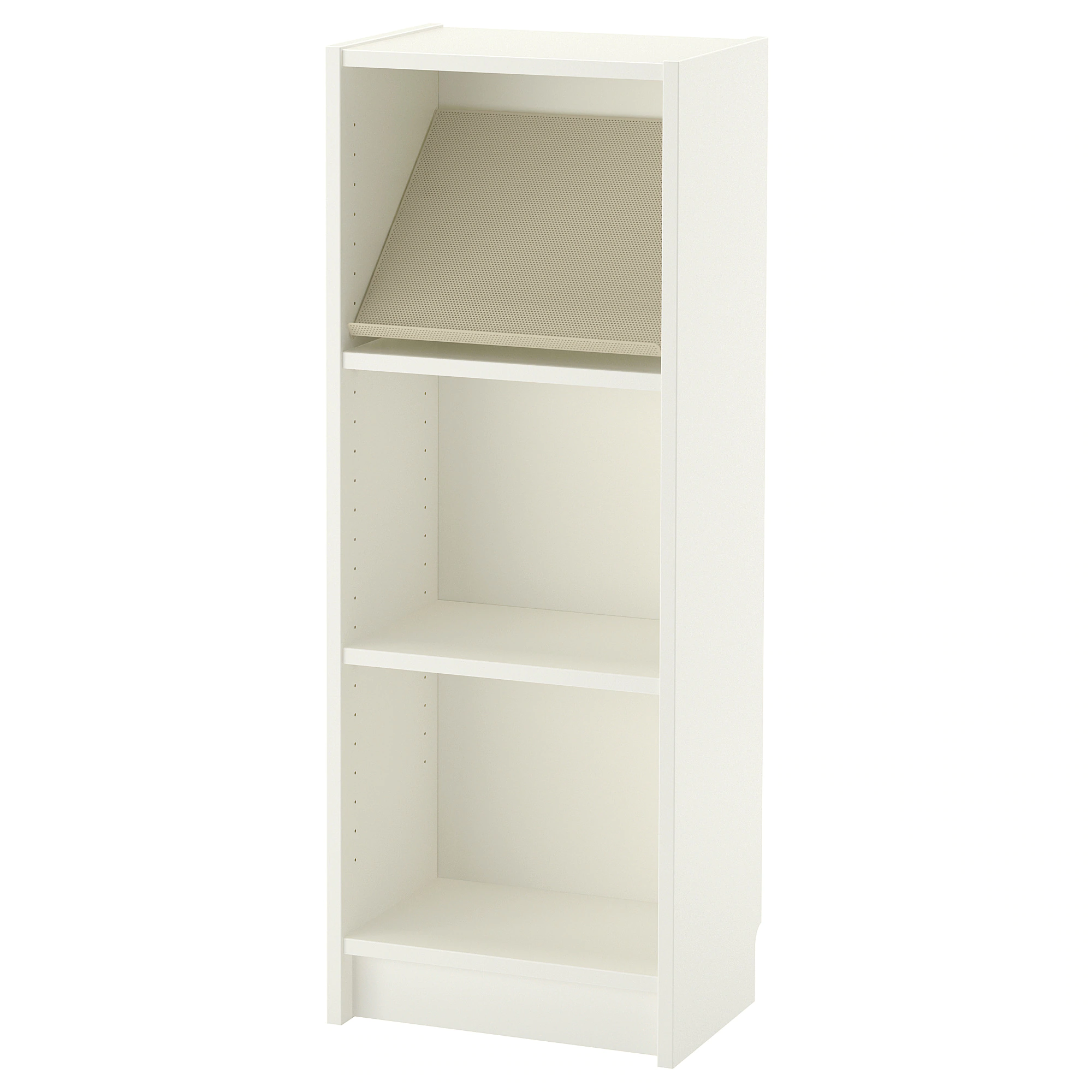Billy Bottna Bookcase With Display Shelf White Beige 15 3 4x11x41 3 4 Ikea Display Shelves Shelves Ikea Bookcase