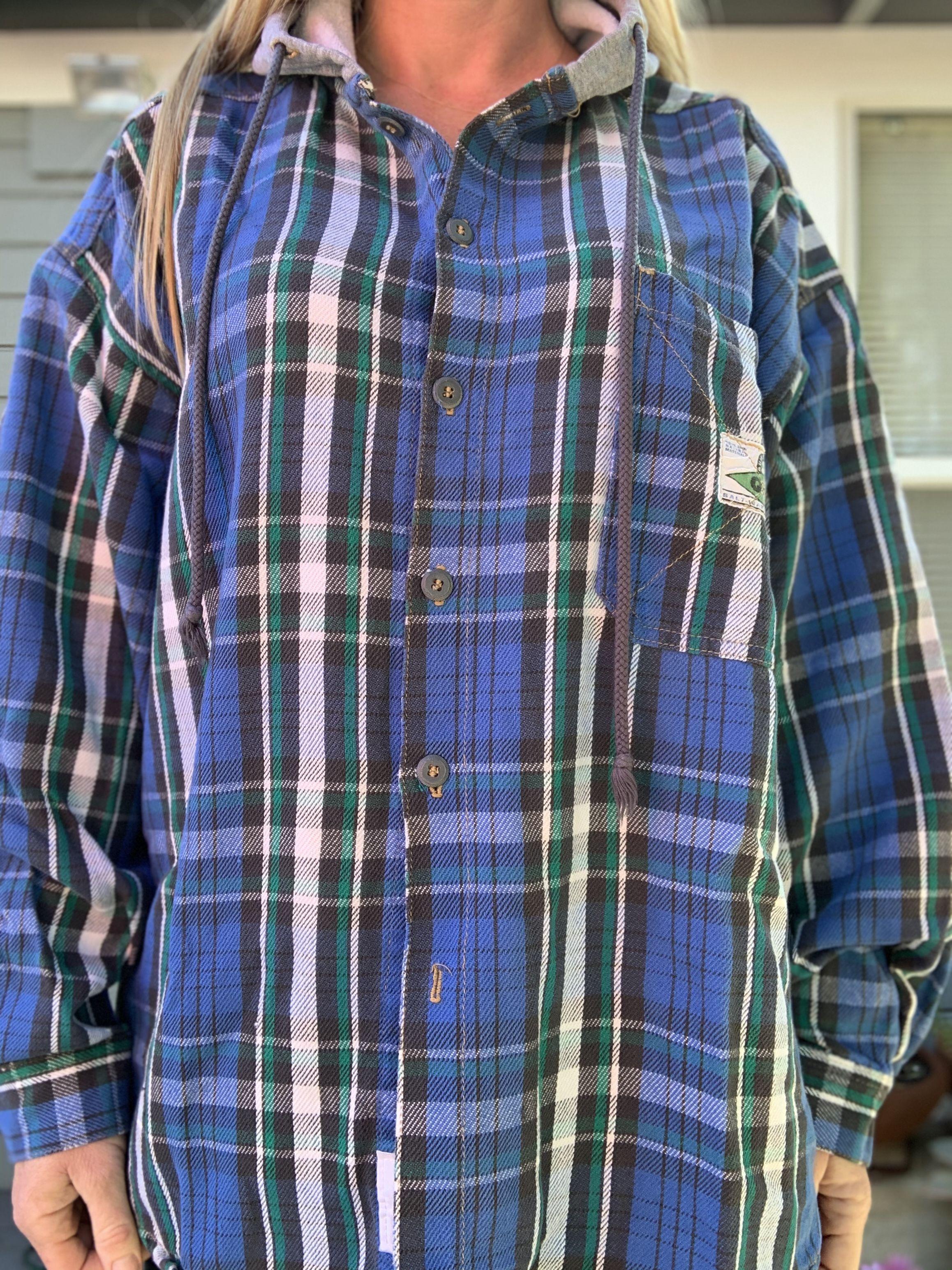 Sold Vintage 90s Flannel Hoodie Vintage Clothing Men Hoodie Flannel Vintage Hoodies [ 3088 x 2316 Pixel ]