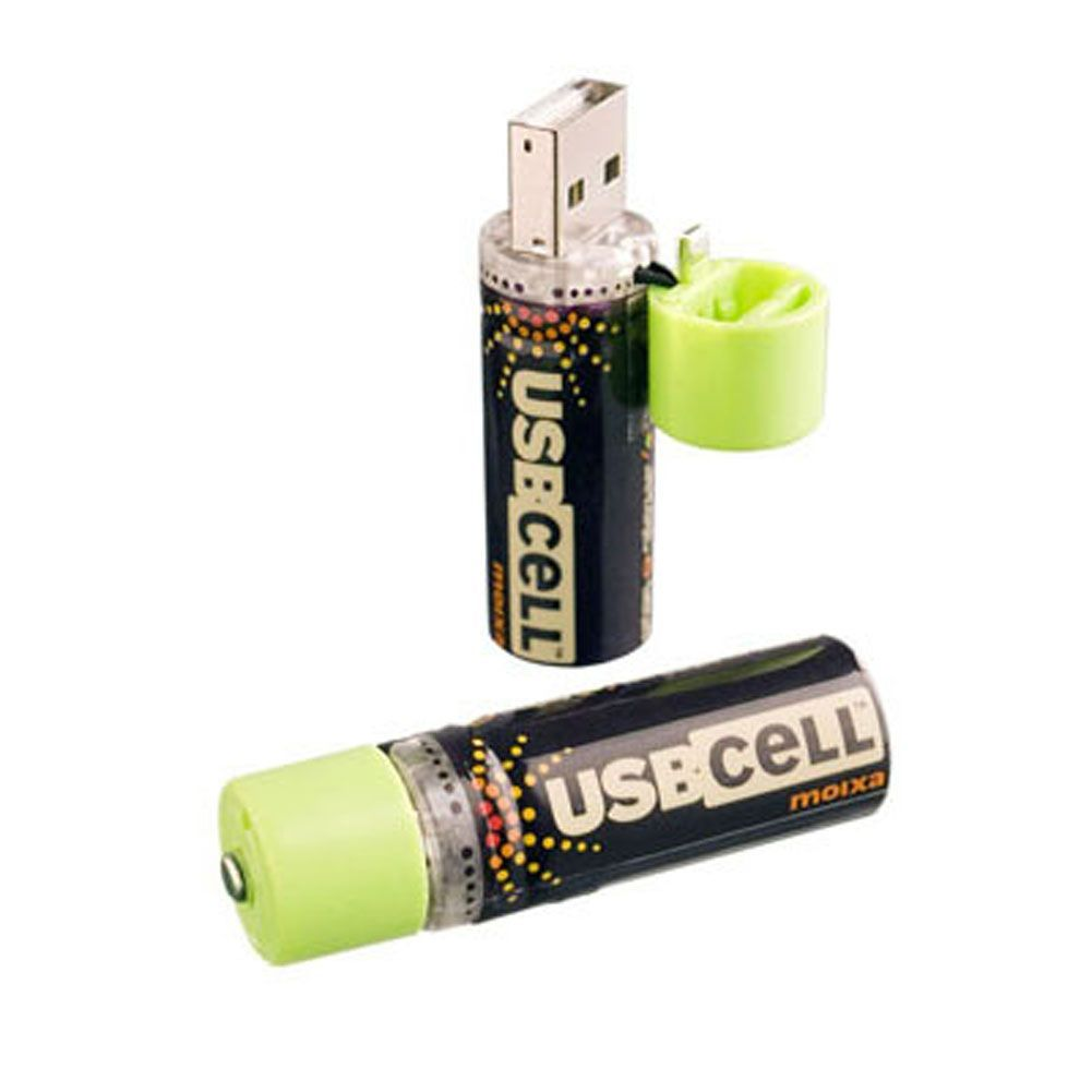 The Usb Rechargeable Battery Is An Aa Cell Battery Recharged By Plugging Into A Usb Port Instead Of Using Disposable Batteries Usb Gadgets Usb Usb Flash Drive
