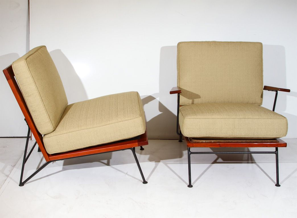 Air Lounge Sofa Set Gold Pillows Pipsan Saarinen Swanson For Ficks Reed Armchairs Iron