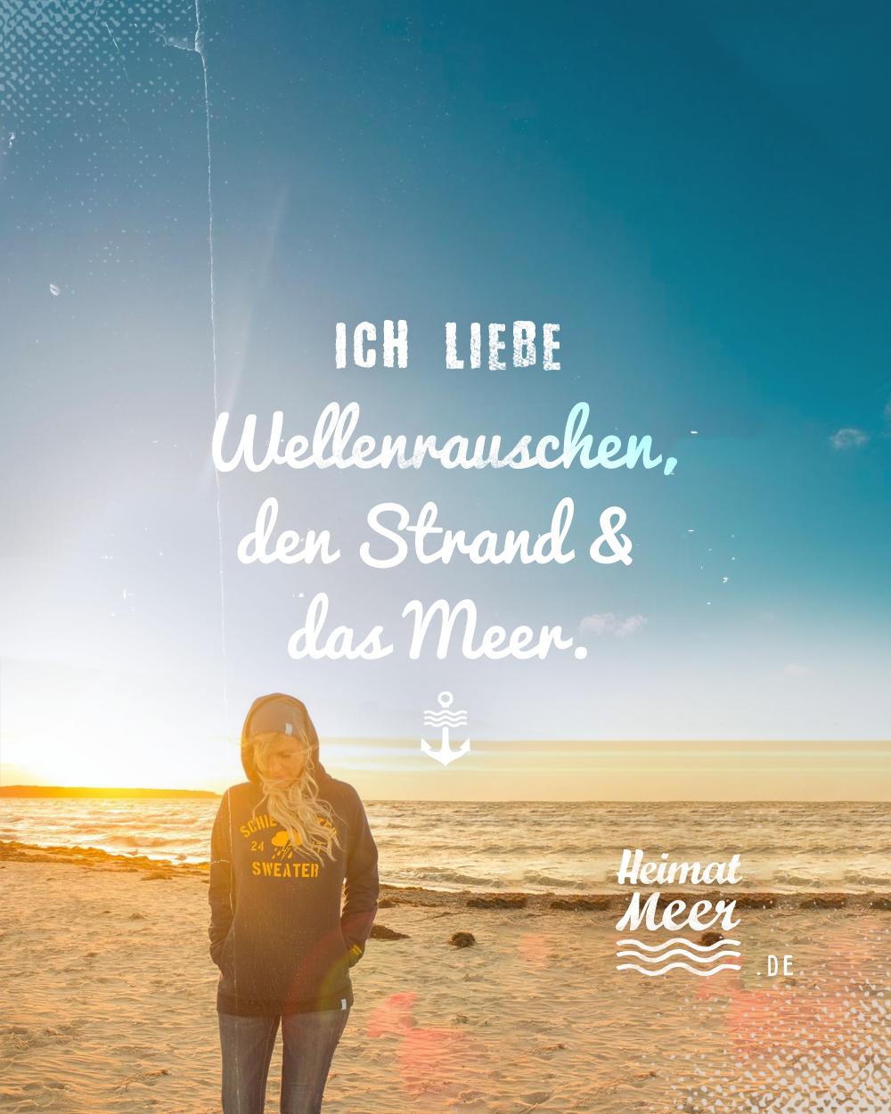 TEAM Wellenrauschen, Strand & Meer 🌊🌊🌊! Du auch? Dann wirst du Heimatmeer lieben >>