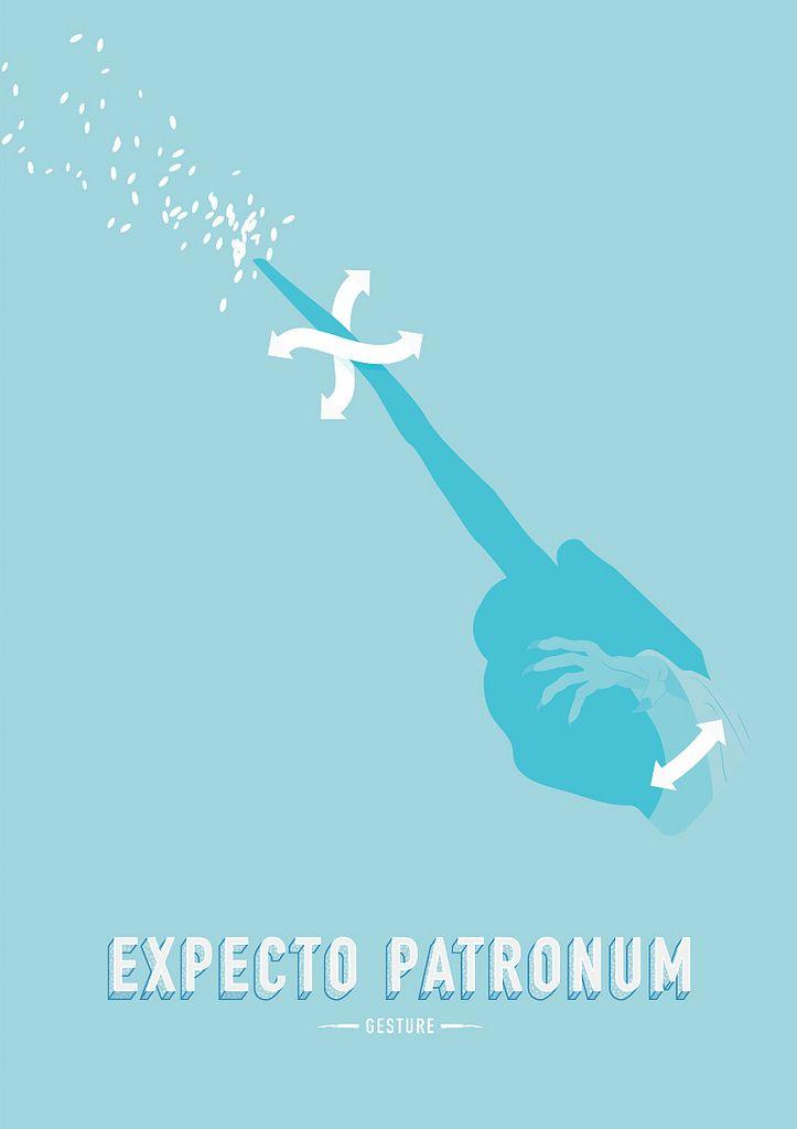 Harry-Potter-Wizard-Gestures-Expecto-Patronum