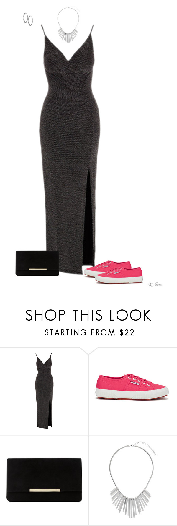 """""""Macy Gray inspired"""" by ksims-1 ❤ liked on Polyvore featuring Lipsy, Superga, Dune, Dorothy Perkins and Argento Vivo"""