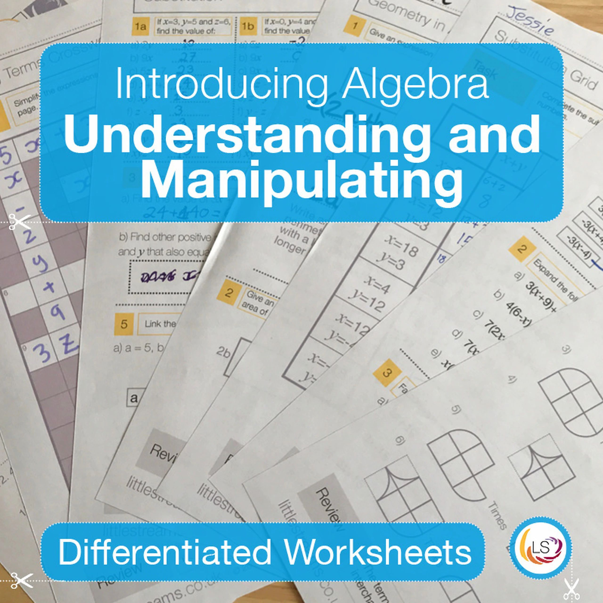 Algebra Substitution Bingo In