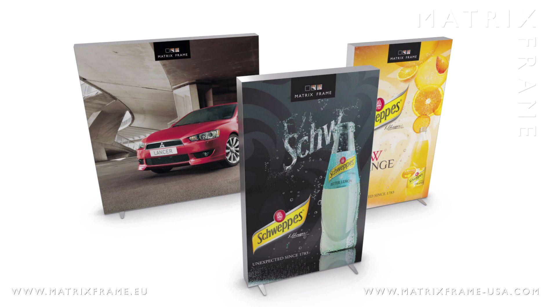 Matrix Light Box - #MatrixFrame   Retail with Matrix Frame   Pinterest