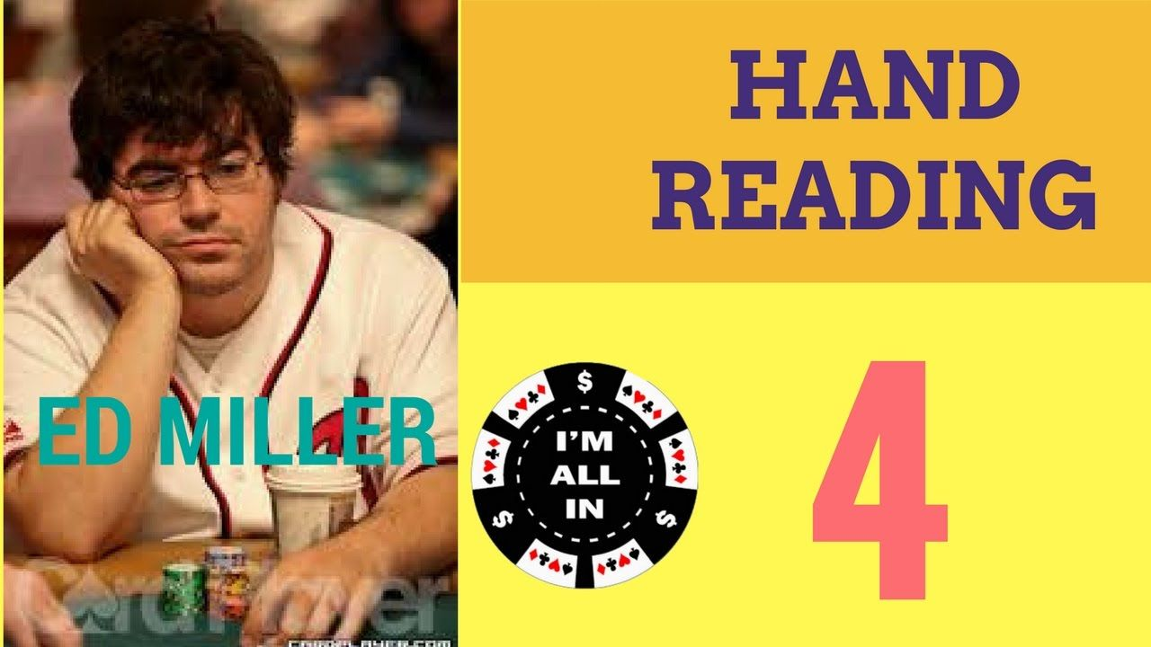 Ed miller training hand reading micro stakes poker videos