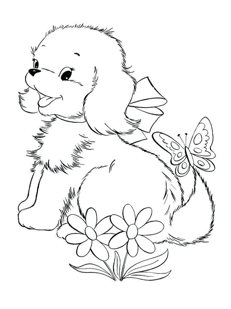 Puppy Coloring Pages Christmas Puppies Are Small Dogs Puppies Are Animals That Love To Socialize Puppy Coloring Pages Dog Coloring Page Animal Coloring Pages