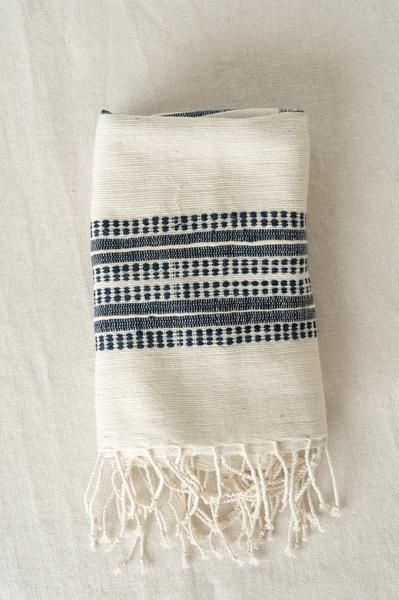 Handwoven in Ethiopia from a soft, natural cotton  The Creative