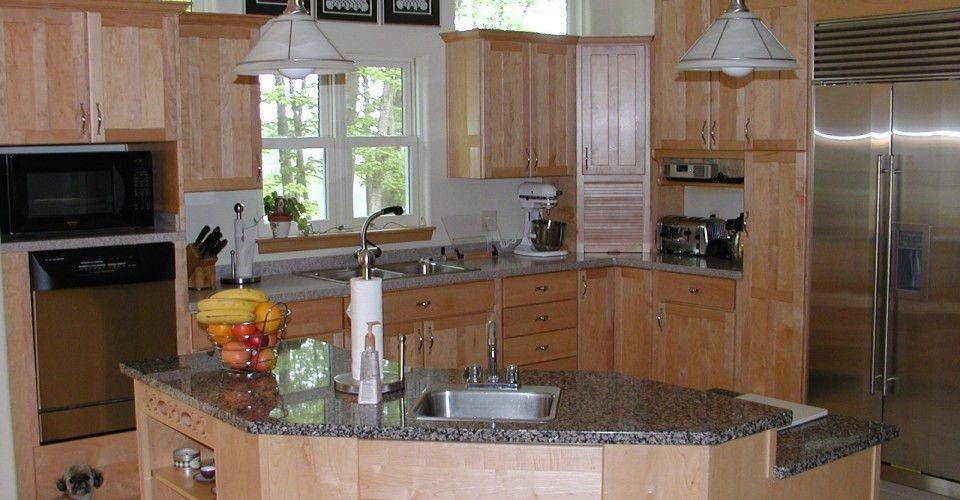 natural birch kitchen cabinets - Google Search | Birch ...