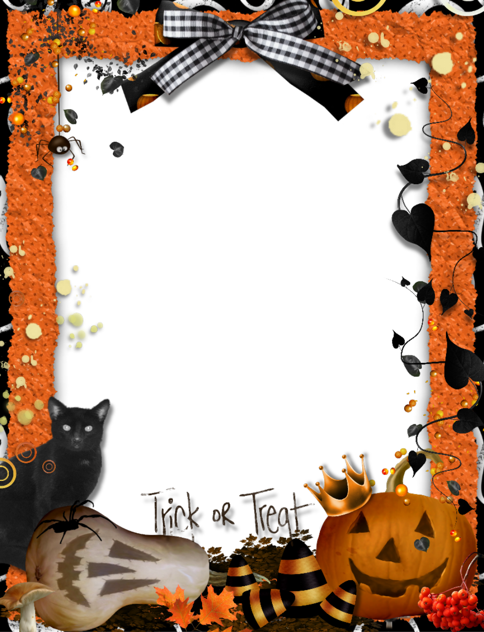 halloween frames and borders | Trick-or-Treat ...