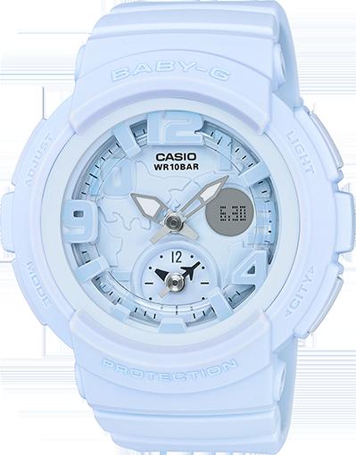 Baby G Ba 190 Series Bga190bc 2b Baby G Shock Watches Baby G Shock G Watch