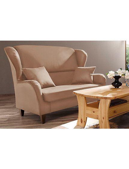 HOME AFFAIRE - Home affaire Sofa »Nicola«, 2-sitzig Luxus-Microfaser im Heine Online-Shop kaufen