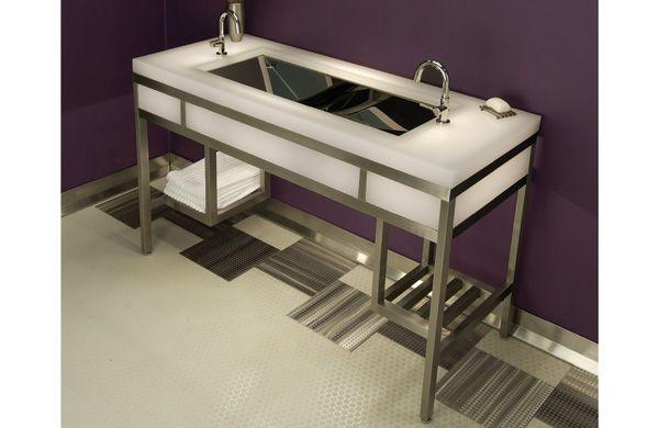 Wash Basin Resin Countertop Bathroom Sink Stainless Steel Vanity Neo Metro Resin Countertops Countertops Basin