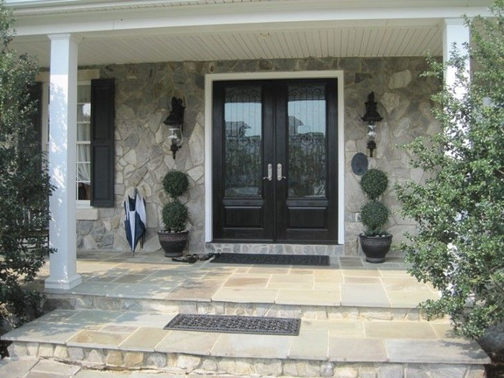 Finding The Perfect Fiberglass Front Doors With Glass: Terrific Double Entry  Fiberglass Front Entry Doors. Exterior ...