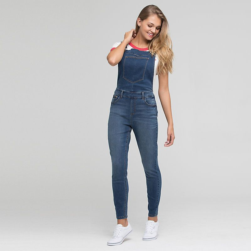 f27382ed Women's Skinny Leg Overall | Products | Overalls, Fashion, Fashion ...