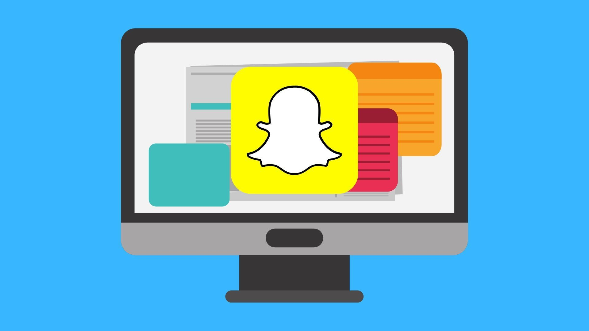 How to Get Snapchat on PC Snapchat message, How to get