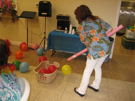 Balloon Games for Seniors | Cream of the Crop Ministry | Activities