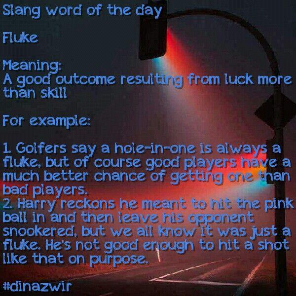 Slang word