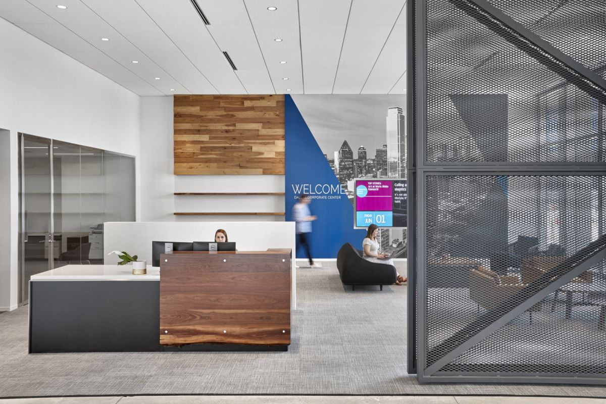 Chase Office by HKS Office Snapshots