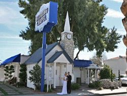 Where Else Can You Have Elvis Walk Down The Aisle Vegas Weddings