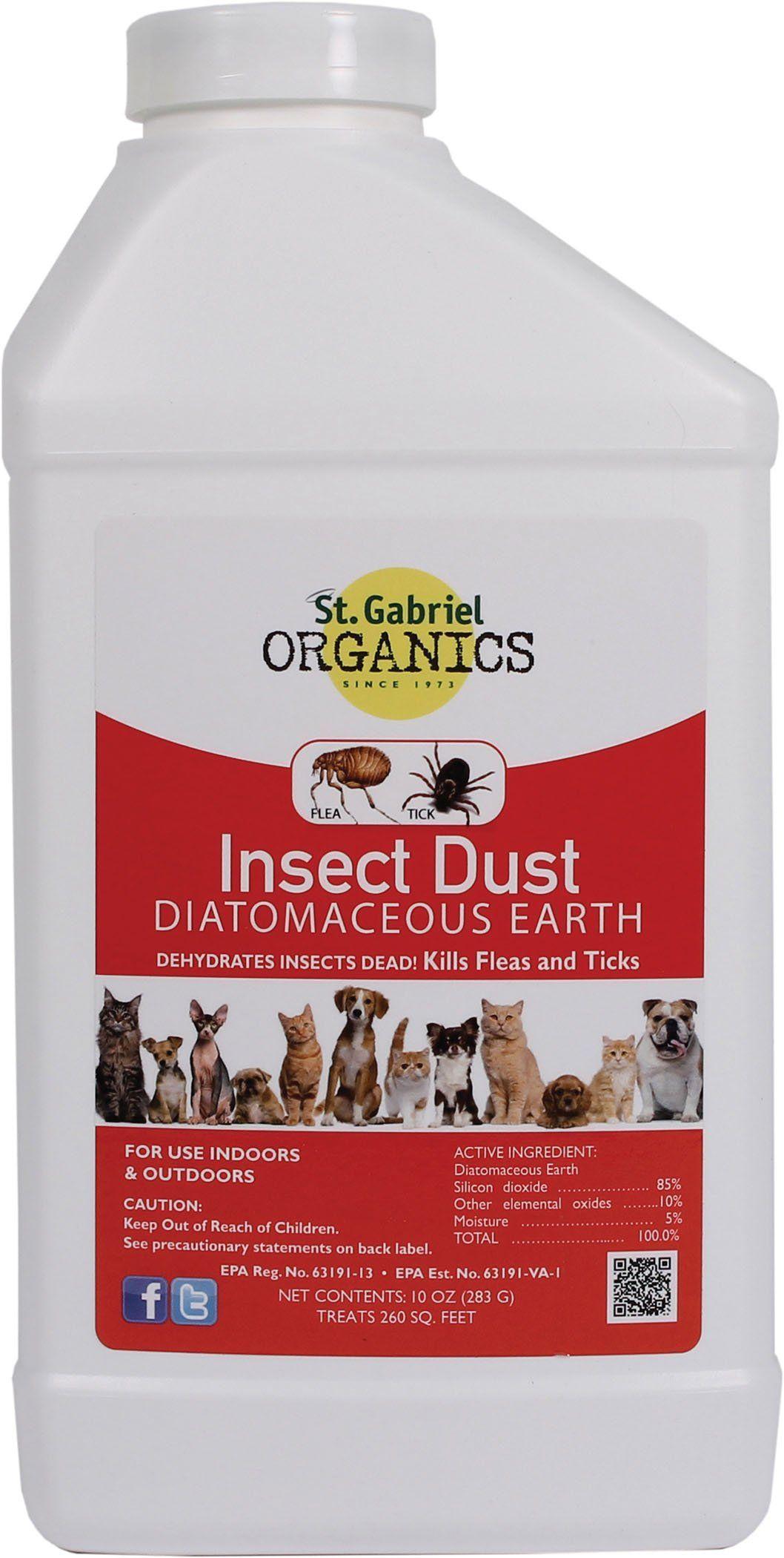 St Gabriel OrganicsInsect Dust Diatomaceous Earth Flea