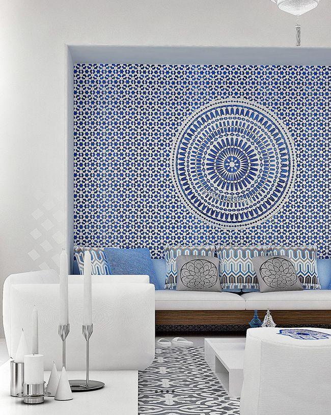 Maison style marocain pour carole pinterest salons for Decoration maison winners