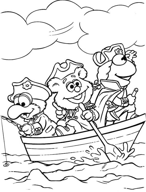 Muppet Babies Become Sea Explorer Coloring Pages Bulk Color In 2020 Baby Coloring Pages Disney Coloring Pages Coloring Pages
