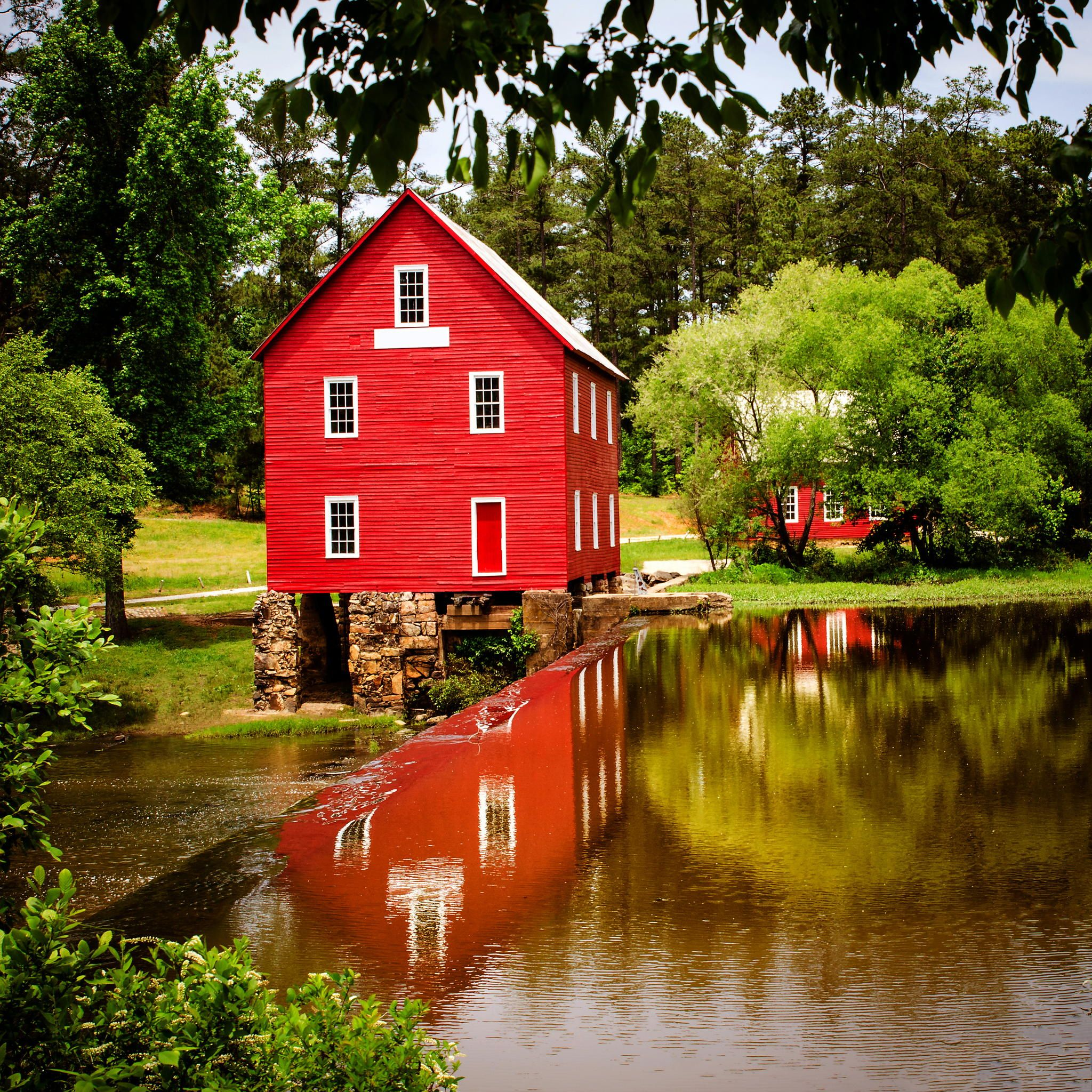 Starr's Mill, A Historic Landmark Near Atlanta, Georgia By