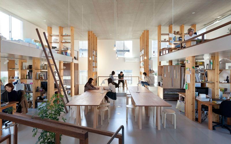 This Japanese Design Studio Has Designed An Office Building For
