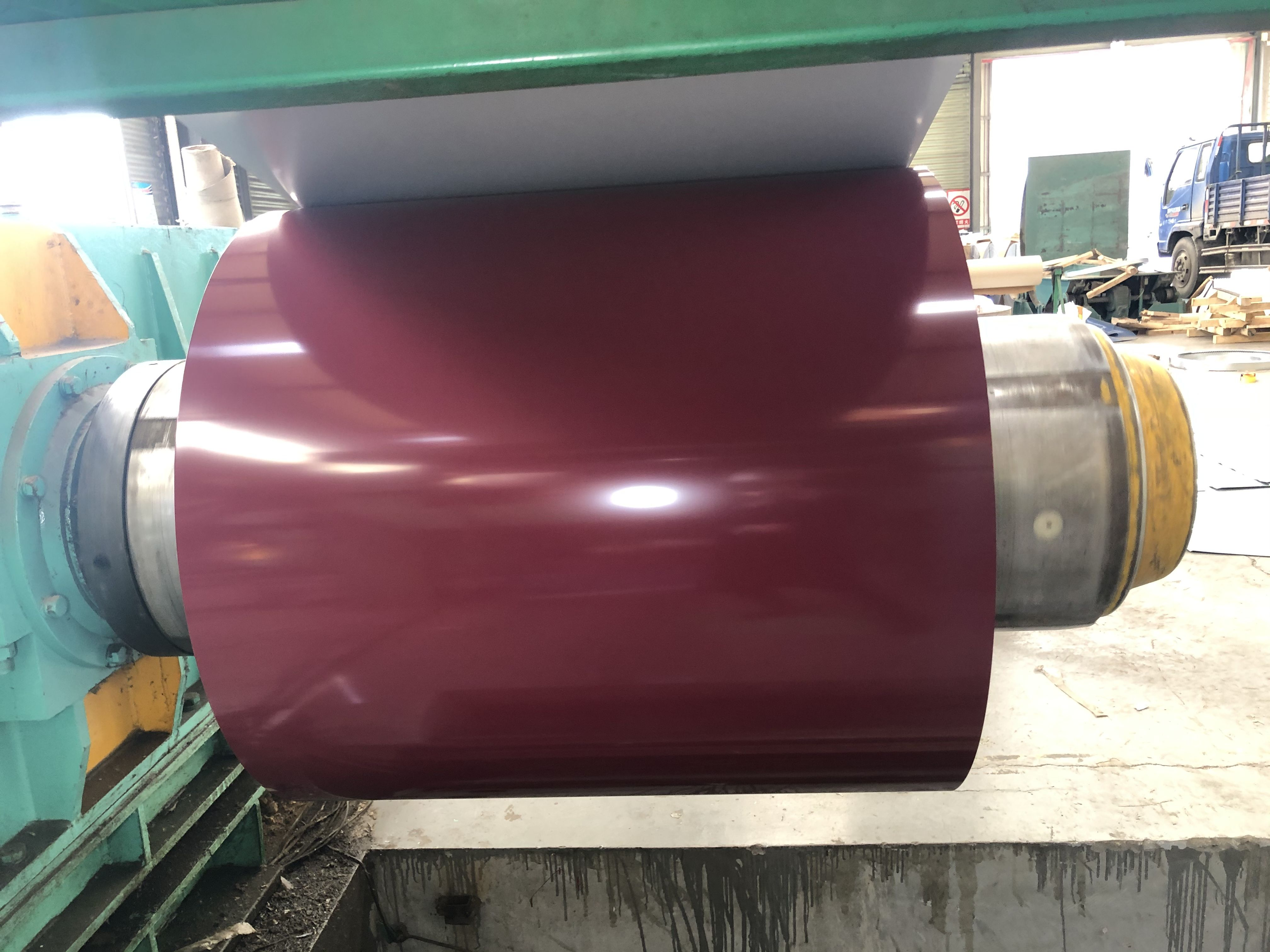Ral3005 Prepainted Aluminum Coil Wechate Whatsapp 8615254382836 Loveucandice Hotmail Com Aluminum Color Coil