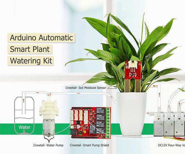 Easiest Arduino Smart Plant Watering Water Plants Plants Plant Watering System