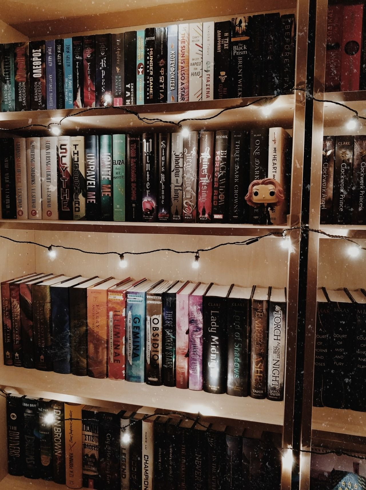Rearranged My Shelves Tumblr Bookshelf Book Aesthetic Photo Shelfie