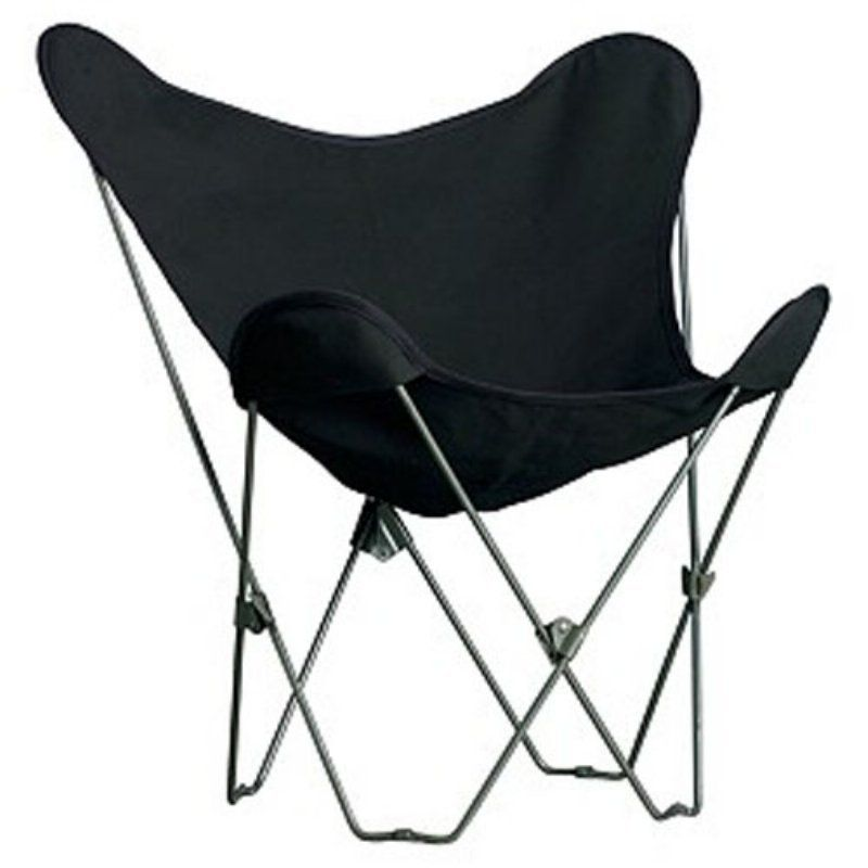 Classic Butterfly Chair-Ebony - Lawn Chairs at Hayneedle