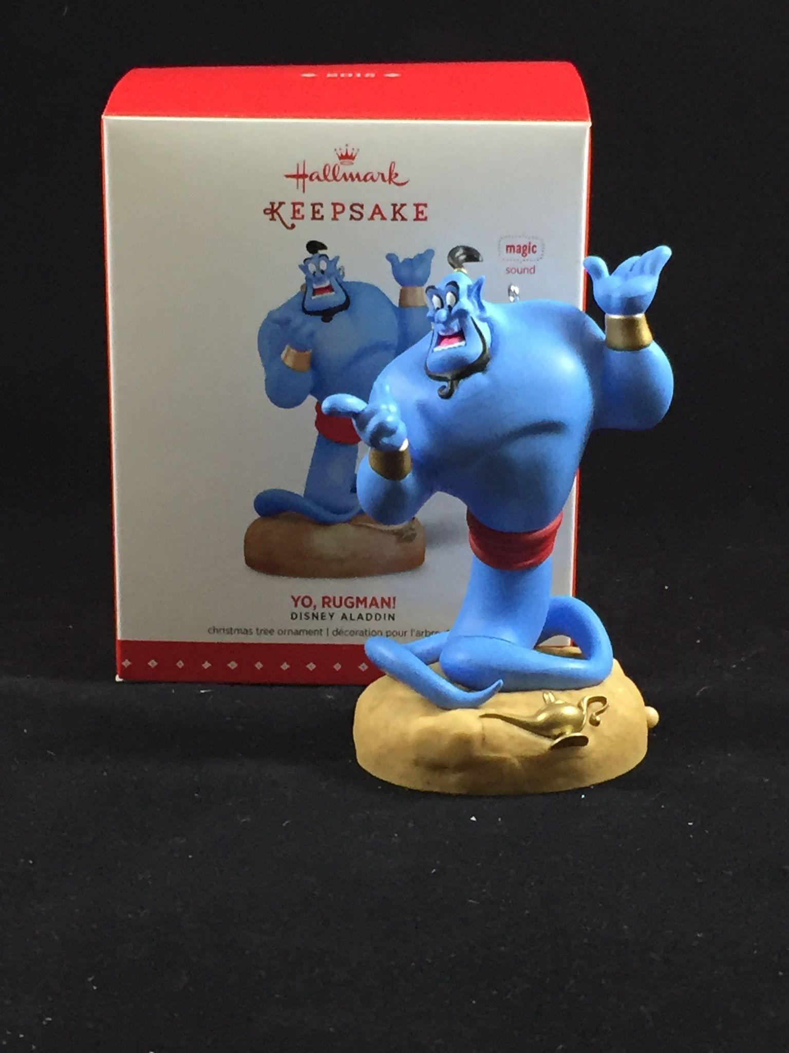 Yo Rugman Genie From Aladdin Hallmark Holiday Ornament Hallmark Disney Ornaments Disney Christmas Ornaments Disney Ornaments