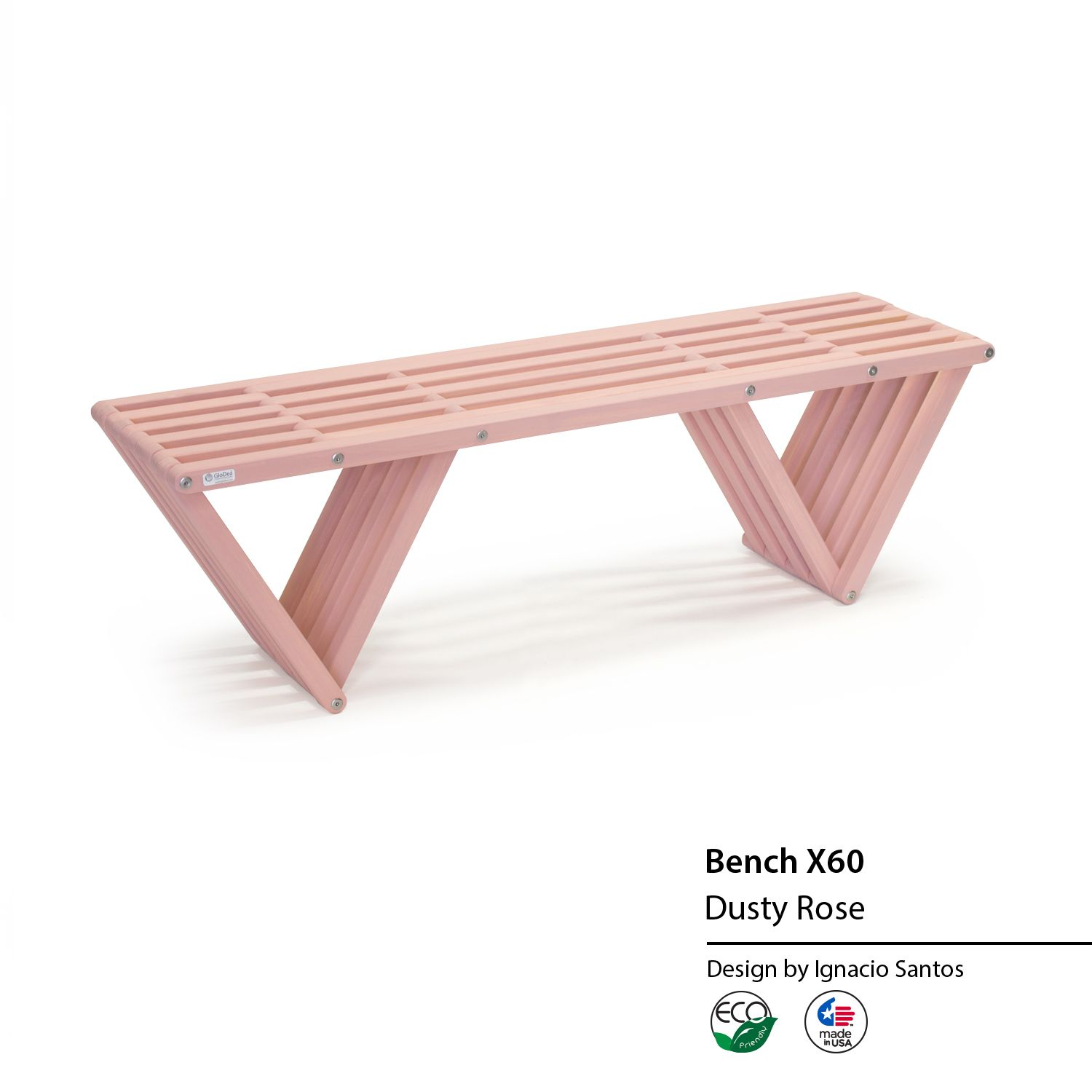 All American Furniture Jacksonville Fl: The Bench X60 Is An Eco-friendly Solid Wood Bench Designed