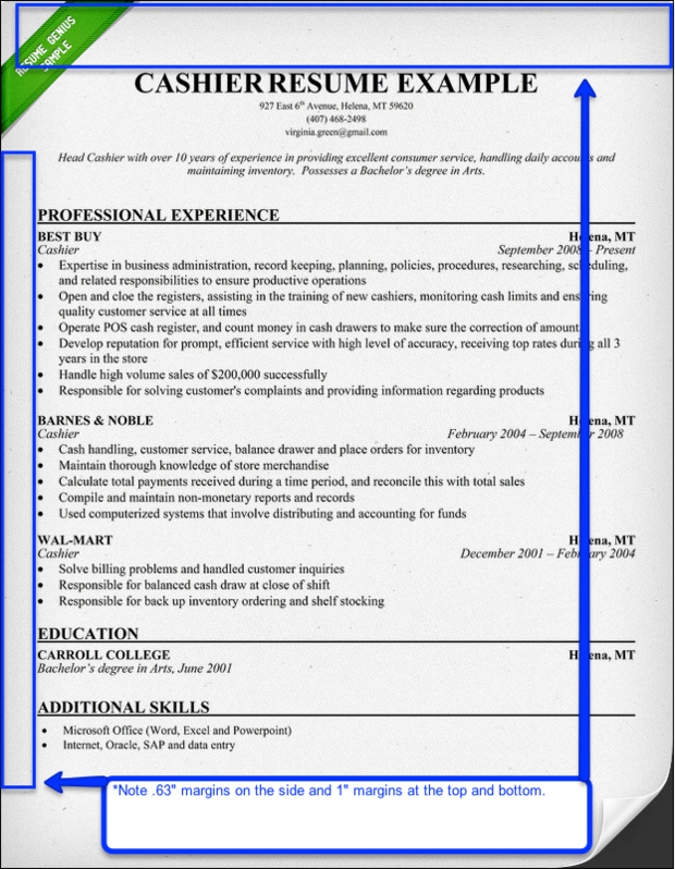 And Font Size Resume format, Resume fonts, Resume